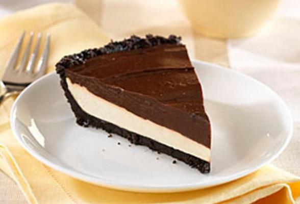 Chocolate-Caramel Creme Pie