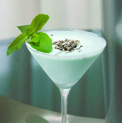 Mint and Chip Cocktail