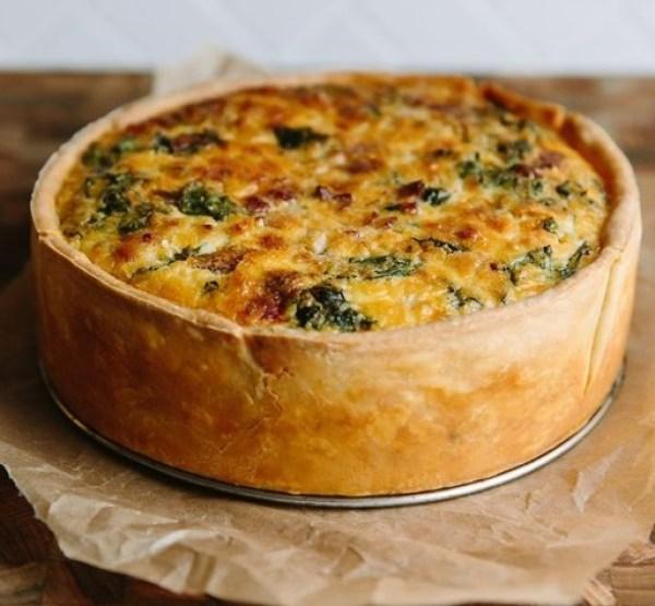Deep-Dish Quiche Lorraine