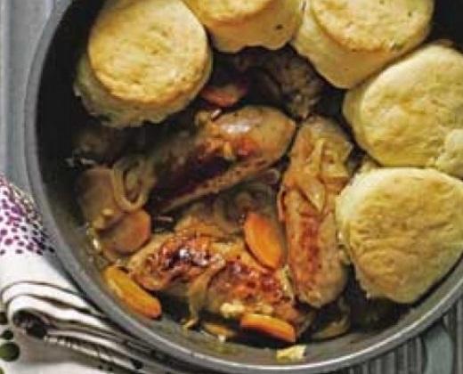 Sausage Cobbler