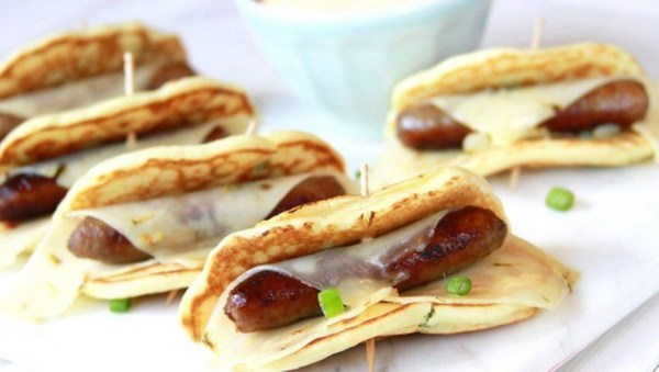 Spicy Green Onion Pigs in a Blanket