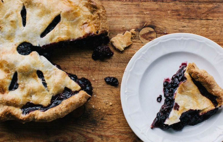 Black & Blueberry Pie