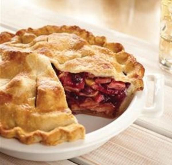 Apple & Blueberry Pie