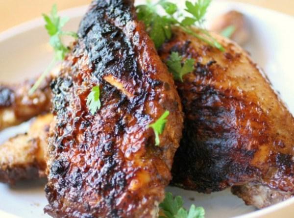 Grilled Coq au Vin