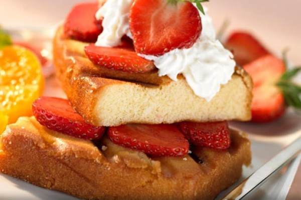 Grilled Strawberry Maple Shortcake