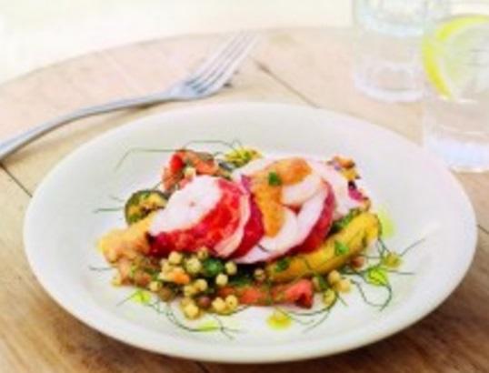 Lobster Fregola With Aioli
