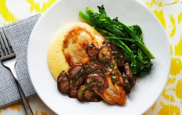 White Wine and Mushroom Chicken