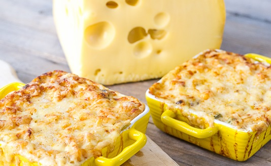 Kicked Up Macaroni and Cheese