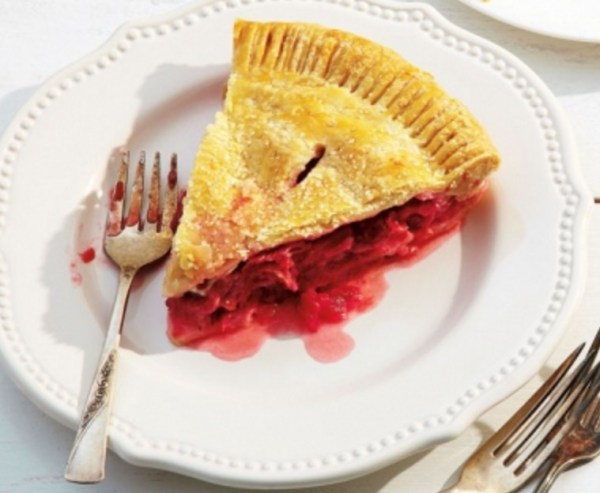 Strawberry & Rhubarb Pie With Orange Zest