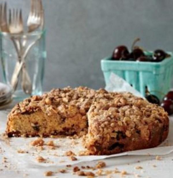 Cherry & Hazelnut Cake