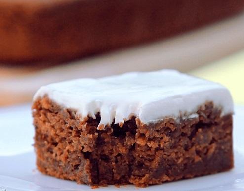 Gingerbread Cream Cheese Cake