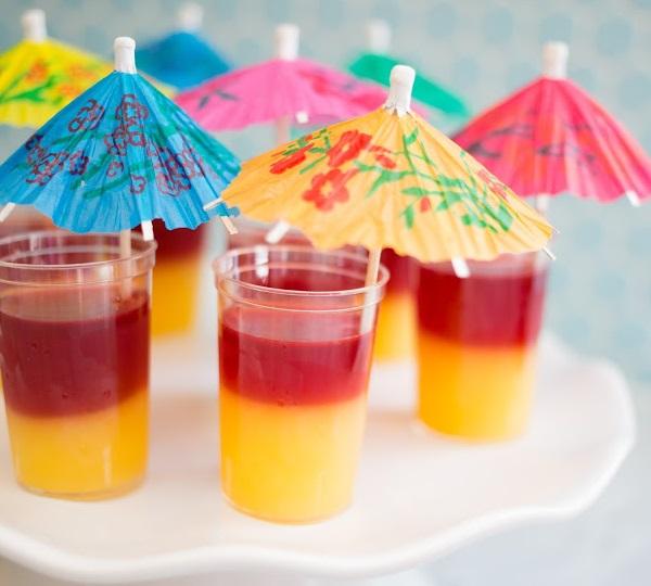 Tequila Sunrise Jello Shots