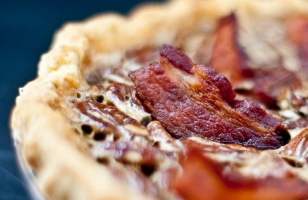 Bacon and Bourbon Pecan Pie