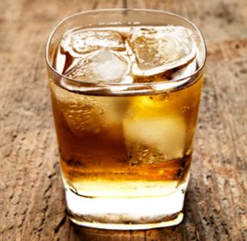 Scotch & Soda Cocktail