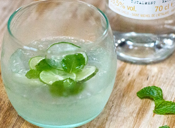 Clairin Mint, Cucumber & Anisette Cocktail