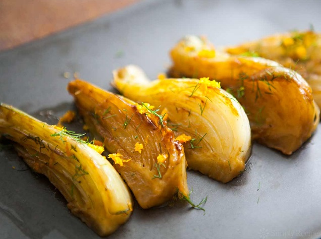 Anisette Braised Fennel