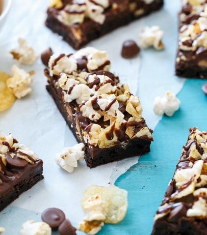 Junk Food Brownies