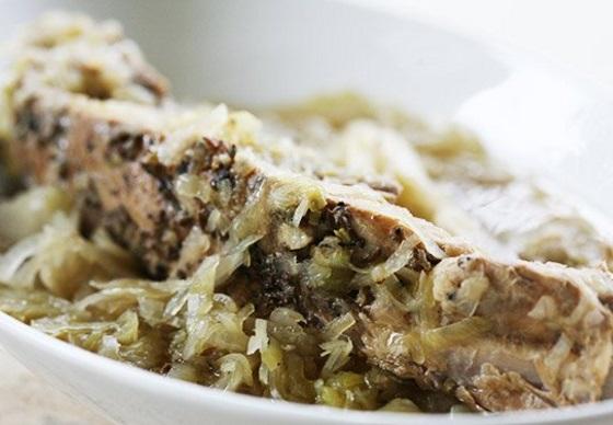 Sauerkraut Spare Ribs