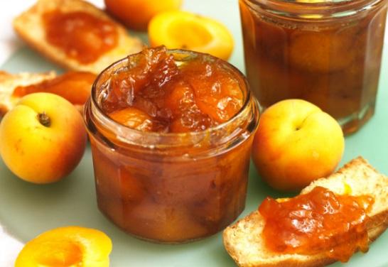 Apricot and Orange Blossom Jam