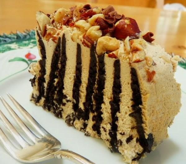 Chocolate Wafer Hazelnut Refrigerator Roll