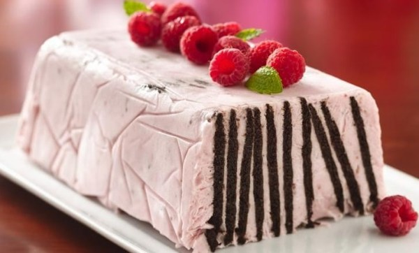 Chocolate Wafer Raspberry Torte