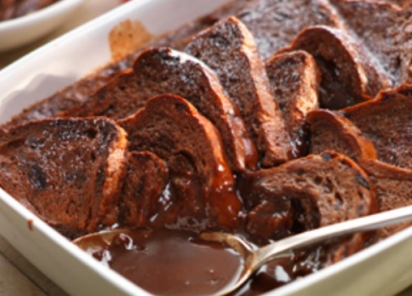 Cadburys Dairy Milk Bread and Butter Pudding