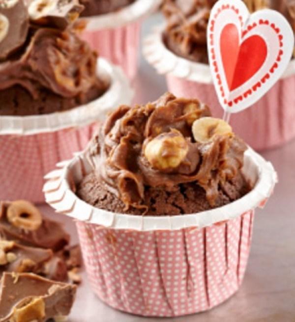 Cadburys Dairy Milk Hazelnut Cupcakes