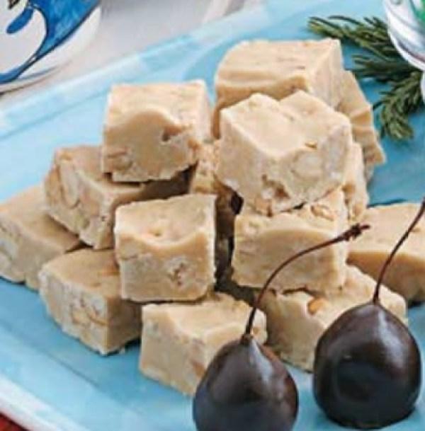 Cashew Penuche Fudge