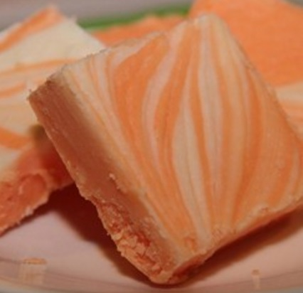 Orange Cream Penuche Fudge