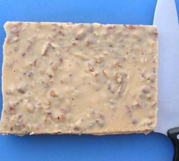 Toasted Pecans Penuche Fudge