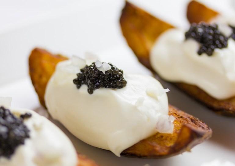 Caviar Potato Wedges