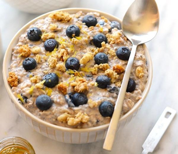 Blueberry Muffin Oats