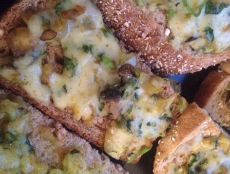 Masala Chilli Cheese on Toast