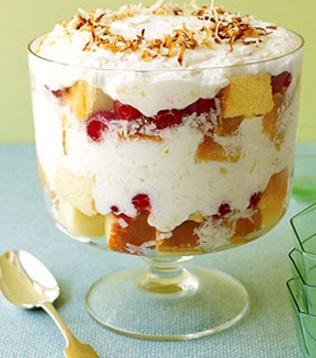 Piña Colada Trifle