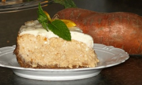 Baked Sweet Potato Cheesecake