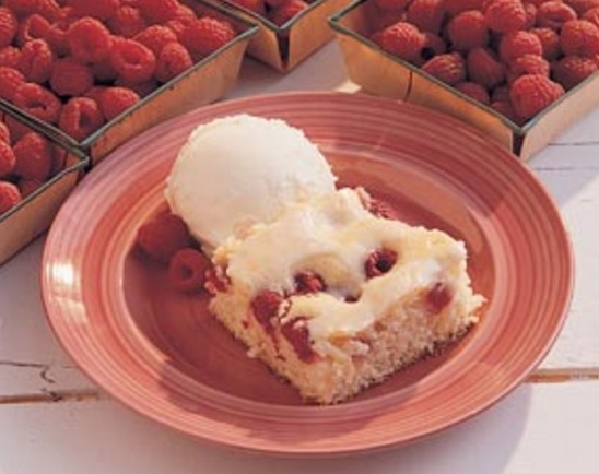 Royal Raspberry Cake