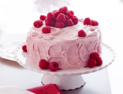 Orange and Raspberry Cake