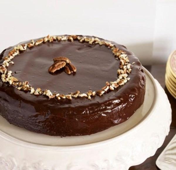 Fudge Pecan Torte