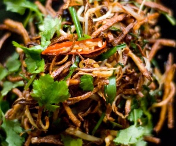 Julienne Fries Salad