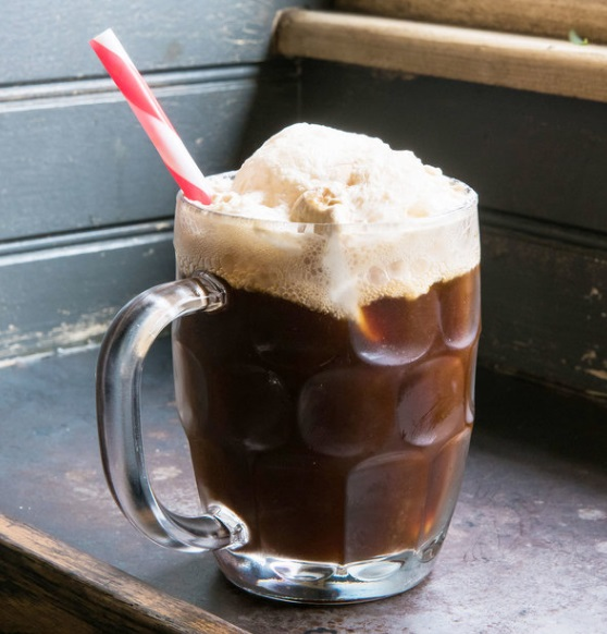 Spiked Root Beer Float