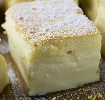 Vanilla Custard Cake