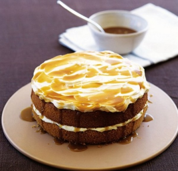 Butterscotch Sponge Cake