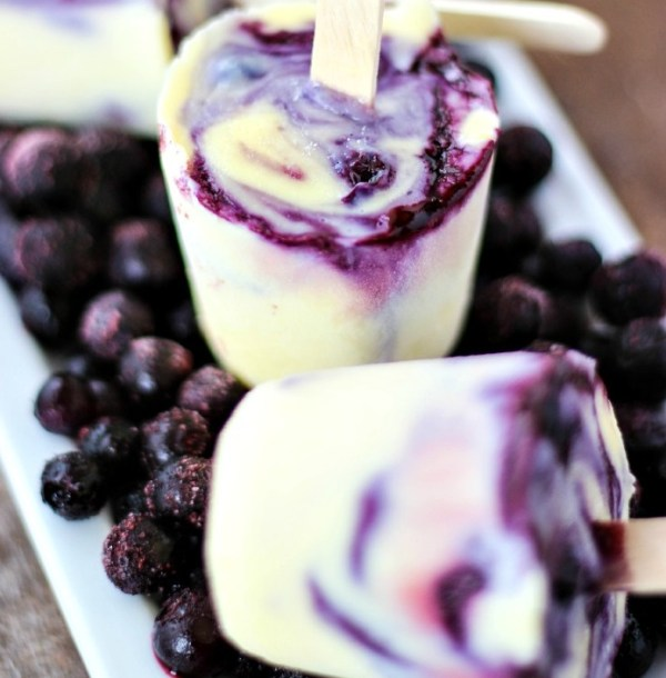 Blueberry Frozen Custard