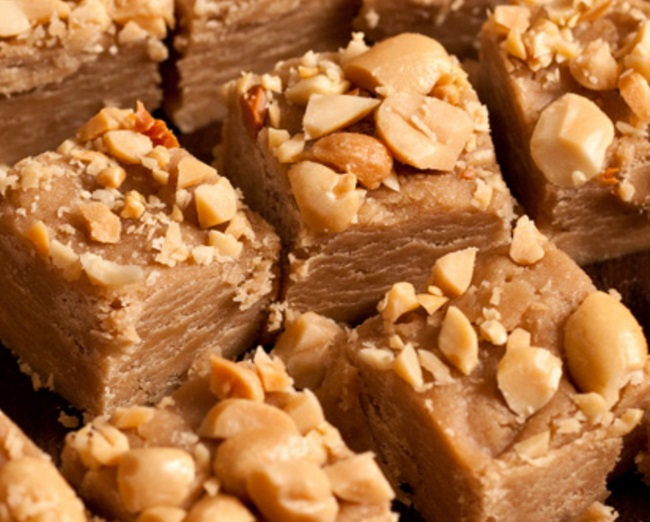 Peanut Butter Cookie Butter Fudge