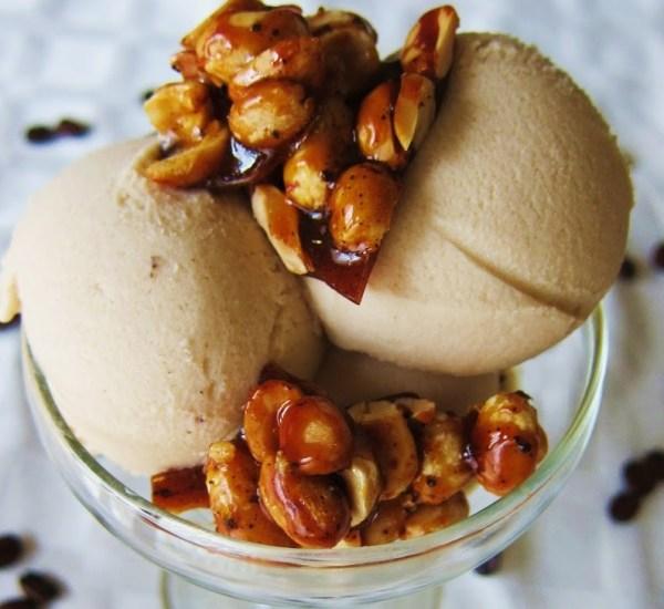 Peanut Butter & Coffee Ice Cream