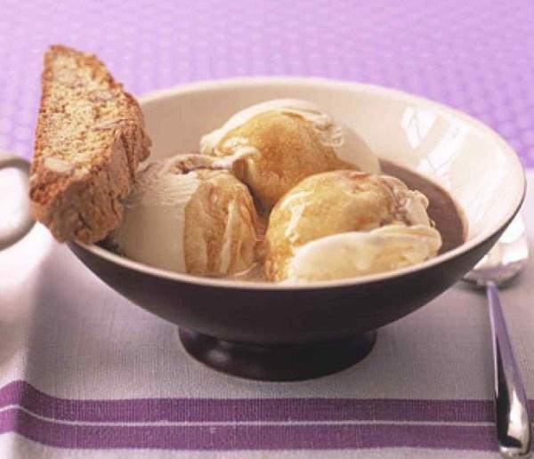 Hot-Coffee Ice Cream