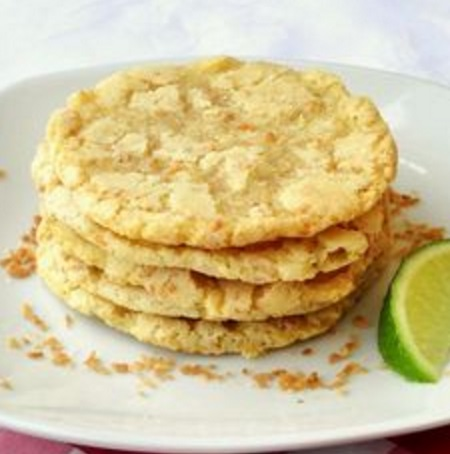Coconut & Lime Cookies