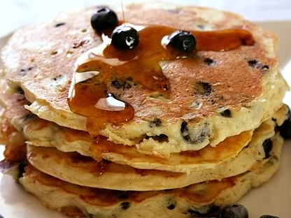 Blueberry Cheese Pancake