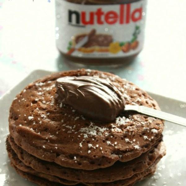 Chocolate Coconut Pancake