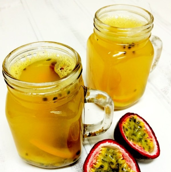 Passionfruit & Citrus Hot Mulled Cider